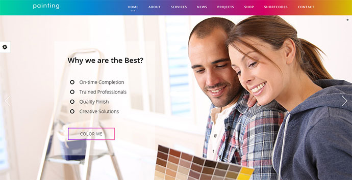 Paint - Painting Company WordPress Theme