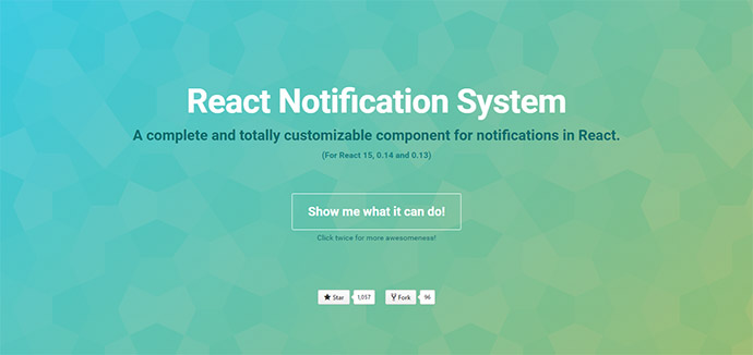 React Notification System