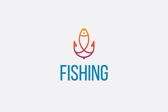 Fish And Anchor Logo