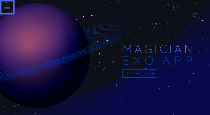 Magician Parallax WordPress Theme