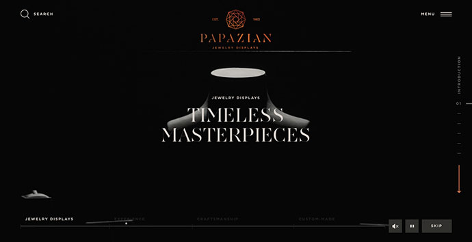 PAPAZIAN JEWELRY DISPLAYS