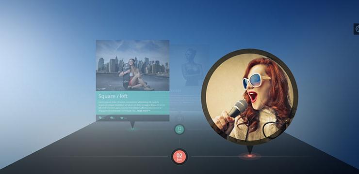 10 Creative Timeline WordPress Themes