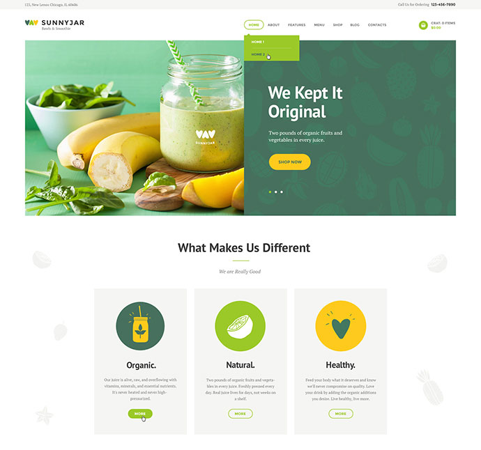 SunnyJar - Smoothie Bar & Healthy Drinks Shop