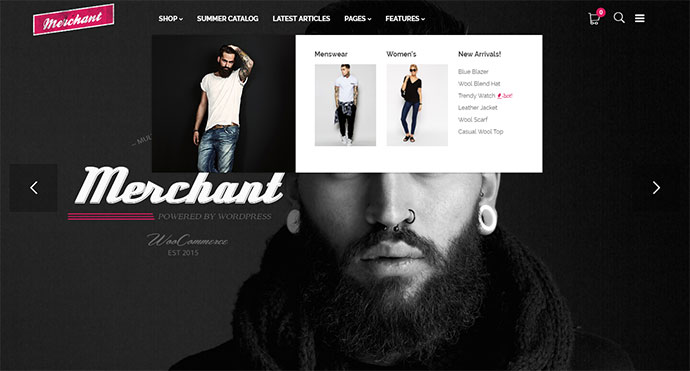 Merchant - Responsive WordPress Theme