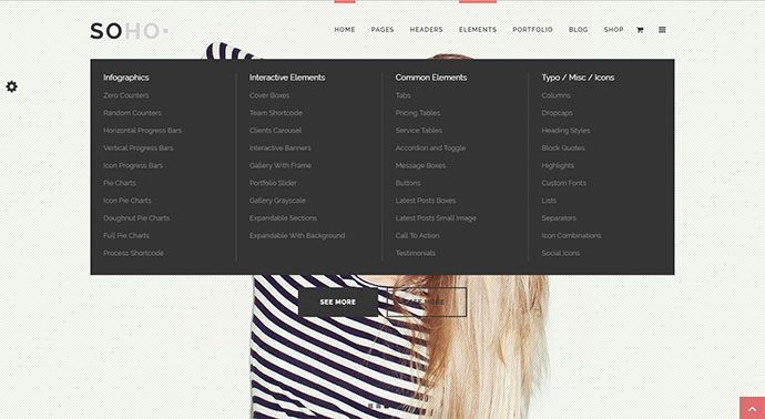 Soho - Clean Multi-Purpose WordPress Theme