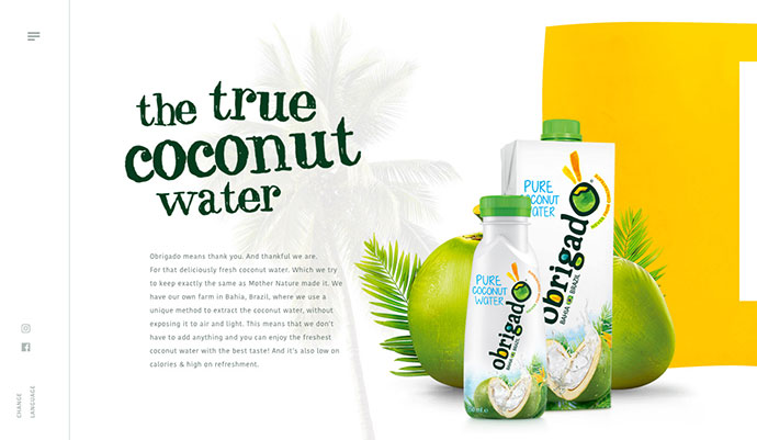 Obrigado Coconut Water