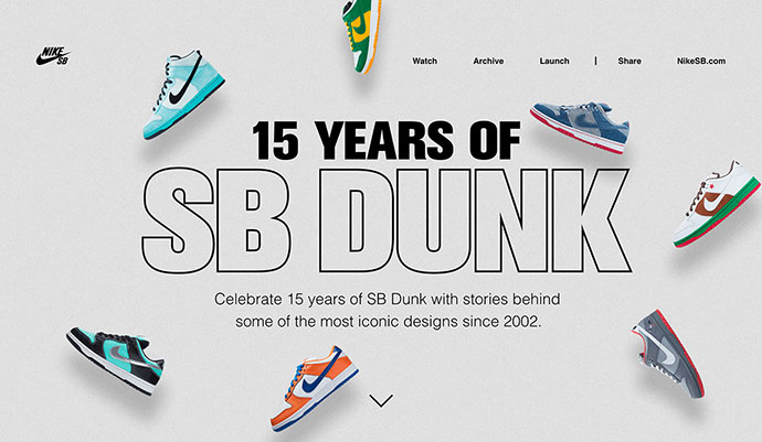Nike - 15 Years of SB Dunk