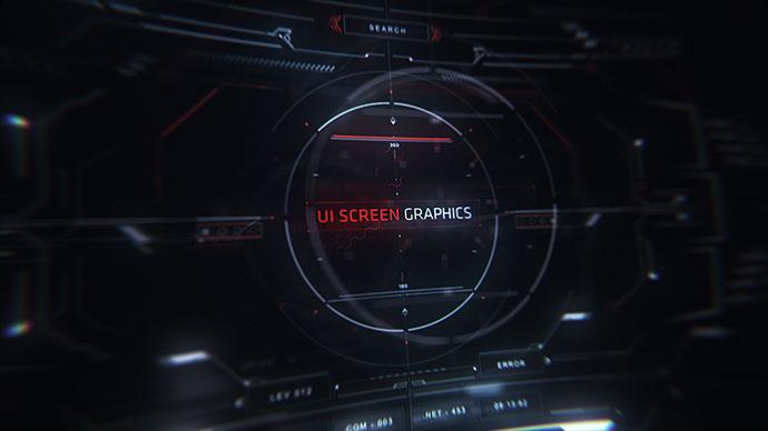 UI Screen Graphics