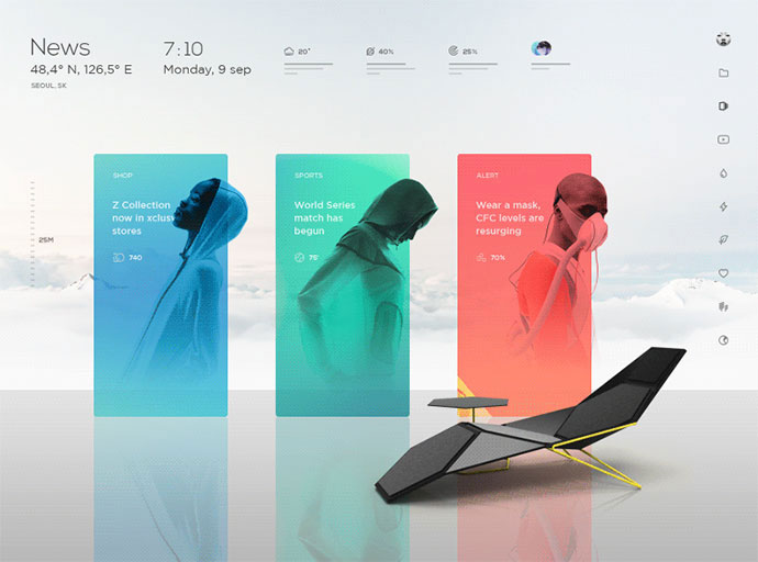 25 amazing vr ui designs inspiration web graphic for Room design vr