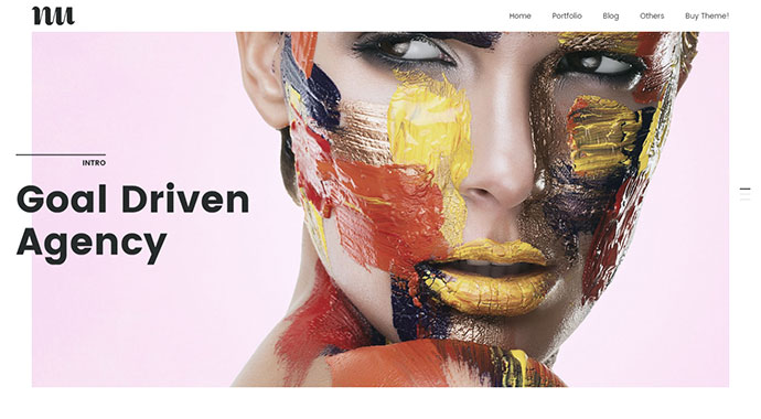 Adios | Portfolio WordPress Theme for Artists, Agencies, Freelancers & Creatives
