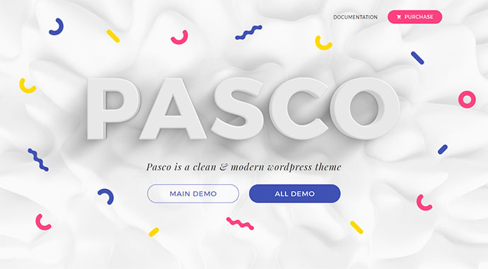 Pasco - Creative Multi-Purpose WordPress Theme