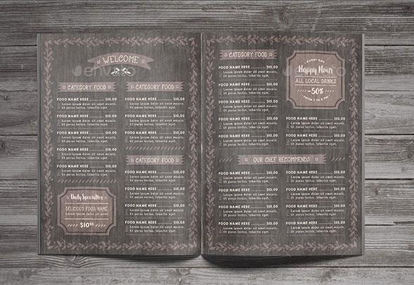 Restaurant Food Menu Package