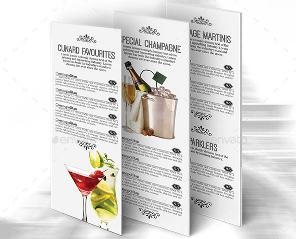 Luxury Bar&Lounge Menu Volume 2