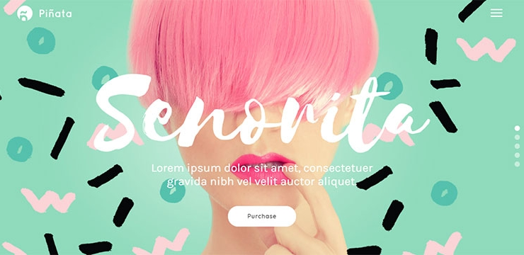 20 Striking Colorful Portfolio WordPress Themes