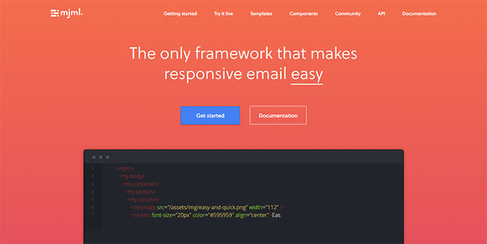 The only framework that makes responsive email easy