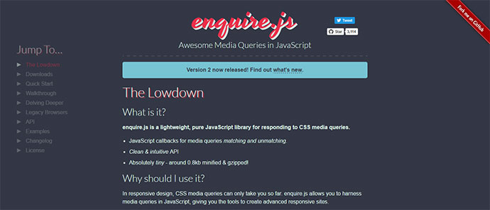 Awesome Media Queries in JavaScript