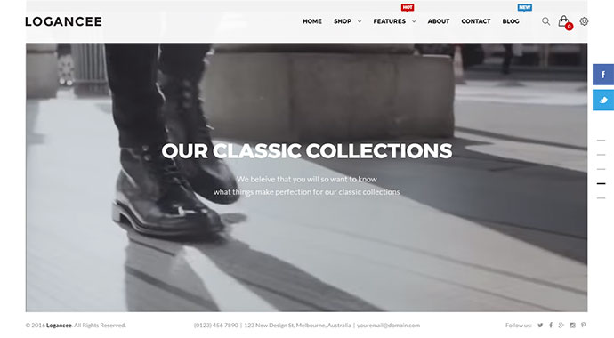Logancee - Multipurpose Ecommerce Store Retail Woocommerce Theme