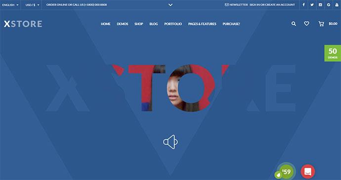 XStore - Responsive WooCommerce Theme