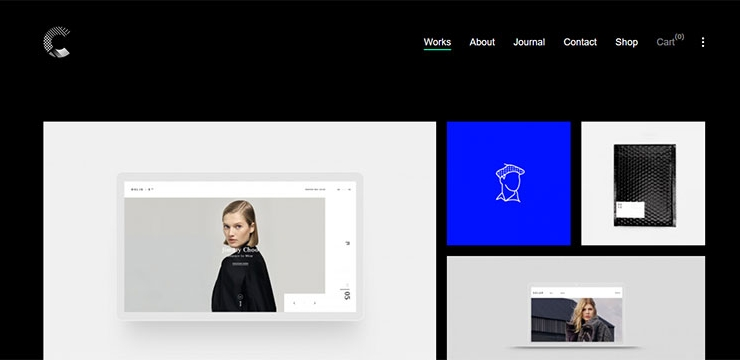 30+ Timeless Minimalist Portfolio WordPress Themes