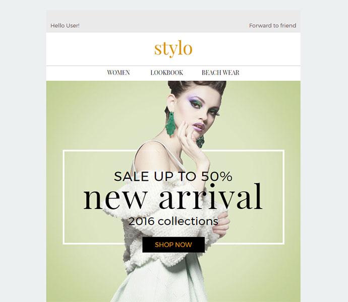 Stylo - Ecommerce Newsletter + Builder Access