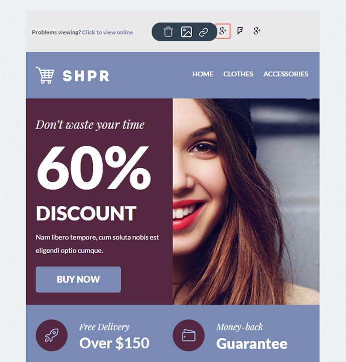 SHPR - E-commerce Newsletter + Builder Access
