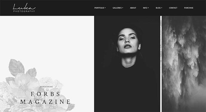 Luka | Modern Photography Portfolio