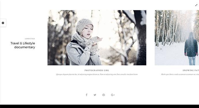 Photography Portfolio Gallery | Vega Theme
