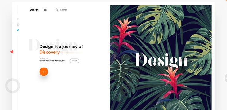 50 Interesting Split Screen UI Designs