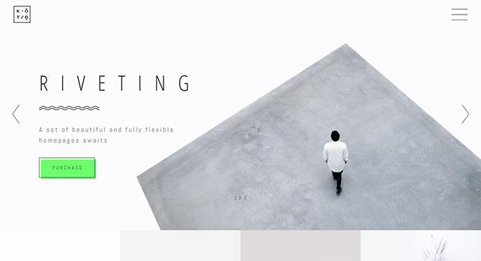 Koto - A Unique and Inspiring Portfolio Theme