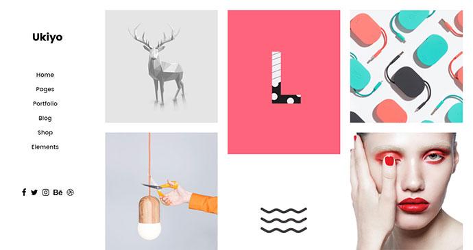 Ukiyo - A Fresh Portfolio Theme for Modern Agencies and Freelancers