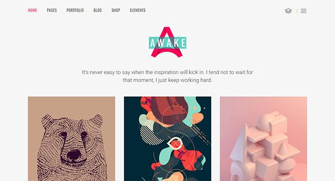 Awake - A Vibrant and Fresh Portfolio Theme