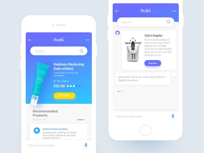 40 Inspiring Chat UI Designs – Bashooka
