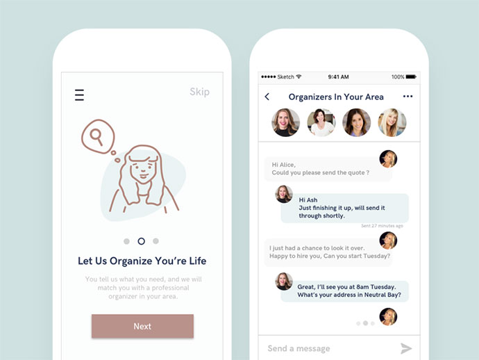 The OrganizedLife App Concept