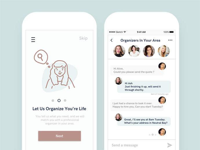 The OrganizedLife App Concept