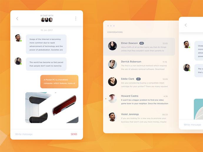 Omee – Messenger UI Kit