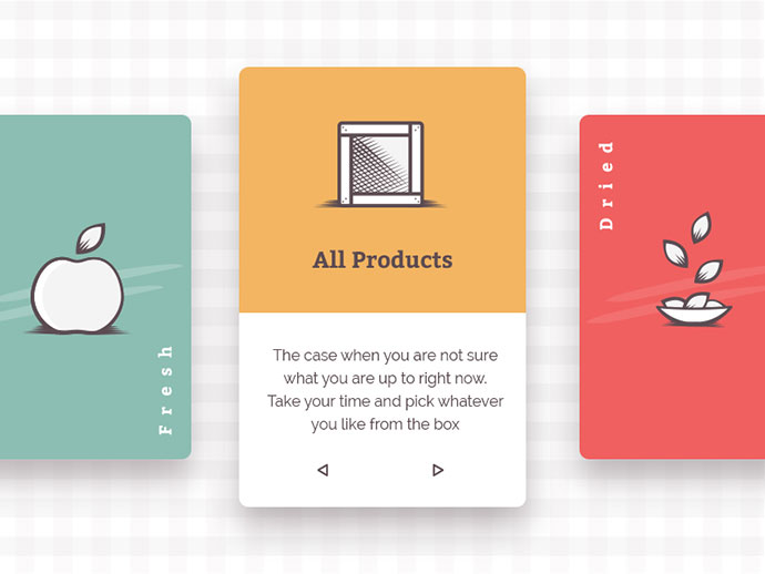 Foodly Collection Cards