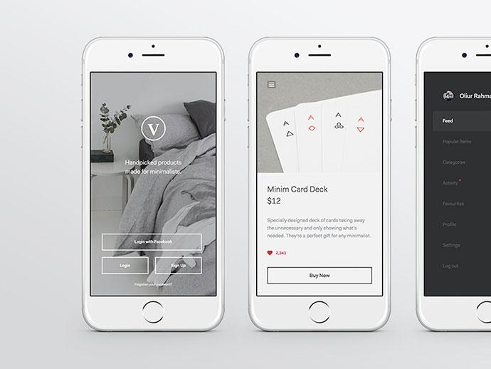 Minimal Product App