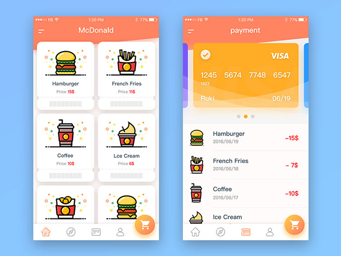 McDonald`s order to pay app 02