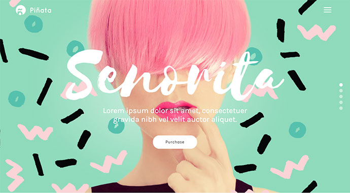 Pinata - A Fun, Vibrant Theme for Creative Agencies & Freelancers