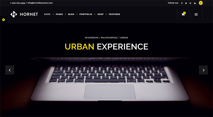 Hornet - An Urban Multi-Purpose Theme