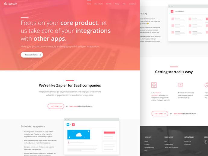 Saasler - Homepage
