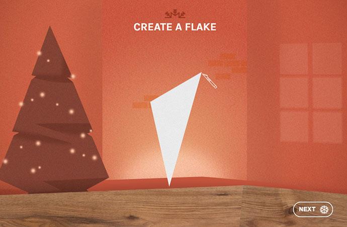 Create a Christmas Snowflake