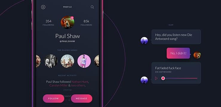 40 Inspiring Chat UI Designs