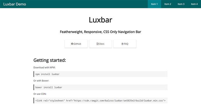 Luxbar