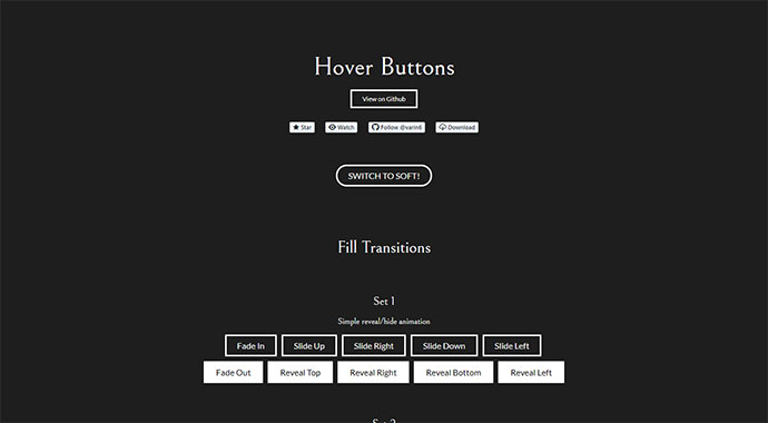 Hover-Buttons