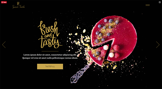 Sweet Tooth - A Delicious Theme for Cake Shops, Confectioneries, and Chocolateries