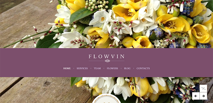 20 Stunning Flower & Cake WordPress Themes