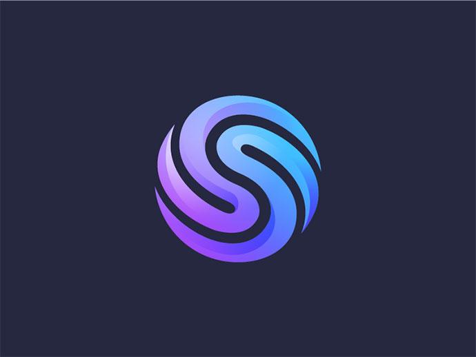 Blue S - Unused Logo