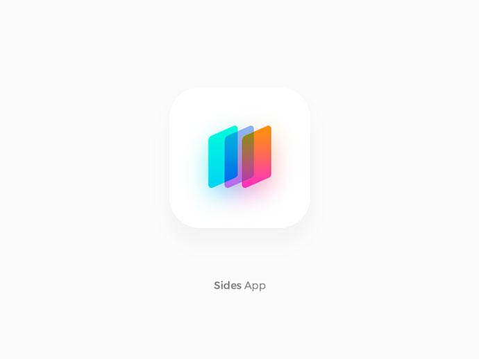 Gradient Mobile App icon