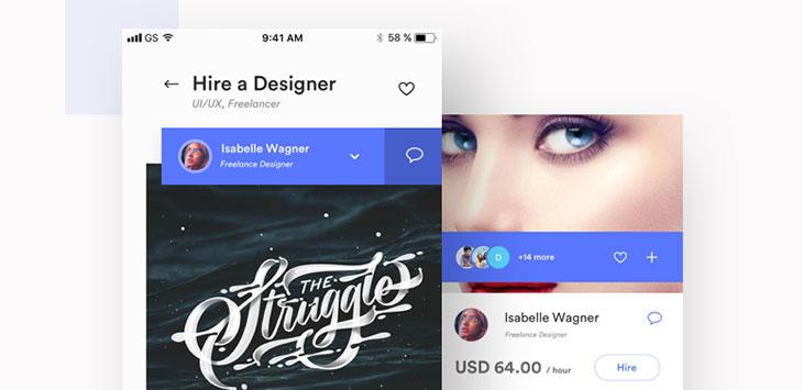 40 Outstanding User Profile UI Designs
